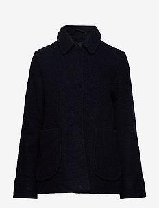 SANOA Coat - DARK BLUE