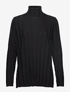 VERTAUS SOLID Knitted tunic - BLACK