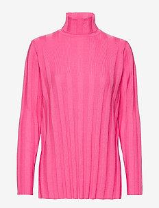 VERTAUS SOLID Knitted tunic - VAALEANPUNAINEN