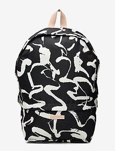 ENNI HARHA backpack - BLACK,WHITE