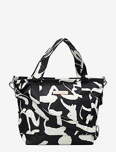 MIRTA HARHA Shoulder-bag - BLACK,WHITE