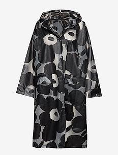 KIRJOITTAMATON Coat - BLACK
