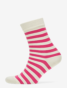 RAITSU Ankle socks - PINK, OFF WHITE