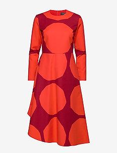 HONKA KIVET Dress - RED, DARK RED