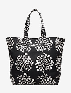 PERUSKASSI PUKETTI Bag - BLACK,WHITE,BLACK
