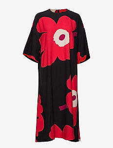 JÄISI JUHLAUNIKKO Dress - BLACK, RED