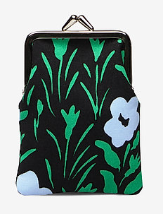 KORTTI KUKKARO PIKKULEMPI Purse - BLACK,LIGHT BLUE,GREEN