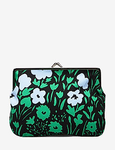PUOLIKAS KUKKARO PIKKULEMPI Purse - BLACK,LIGHT BLUE,GREEN