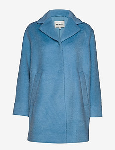 HURMA COAT - BLUE