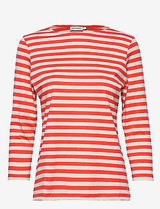 ILMA Shirt - ORANGE, PEACH