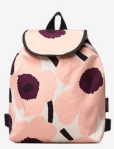 ERIKA PIENI UNIKKO Backpack - rucksäcke - light beige,pink,burgundy