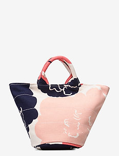 PIKKU ROIMA PIONI Bag - casual shoppers - off white,coral,dark blue