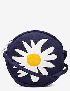 RILLA RAKASTAA Bag - skuldertasker - dark blue,off white,yellow