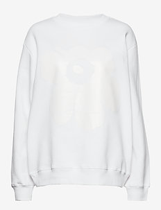 LOHKARE UNIKKO Sweatshirt - WHITE, WHITE