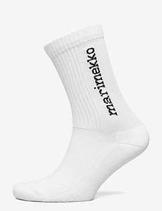 KUKSA SINGLE LOGO Socks - sokker - white, black
