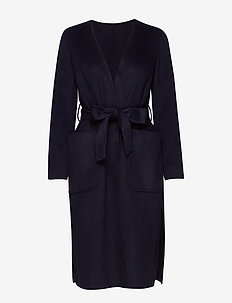 KAJEA COAT - NAVY BLUE