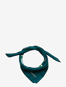 FROSITTA FLORESTAN Scarf - sjaals - green, navy, peach