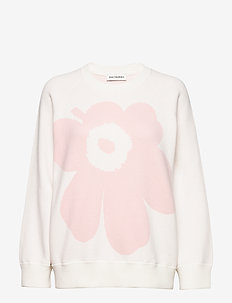 LOHDUKAS UNIKKO KNITTED PULLOVER - jumpers - off white, light pink
