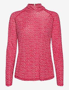 TUTKA UNIKKO SHIRT - long sleeved blouses - beige, pink