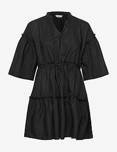 HUILAUS SOLID DRESS - korte kjoler - black