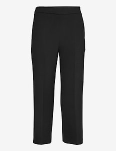 HAKKU SOLID TROUSERS - casual trousers - black