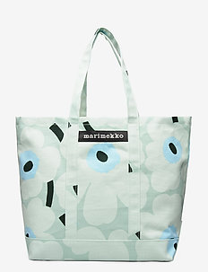 PERUSKASSI PIENI UNIKKO BAG - casual shoppers - light turquoise,blue,green