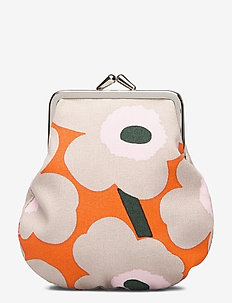 PIENI KUKKARO MINI UNIKKO - plånböcker - orange,beige,pink