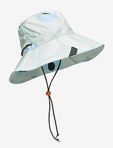 ADOLINA PIENI UNIKKO HAT - emmer hoeden - light turquoise,blue,green