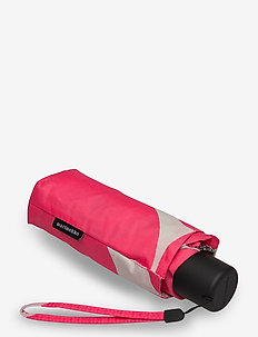 MINI MANUAL UNIKKO UMBRELLA - paraplyer - pink, dark green, beige