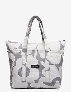 UUSI MINI MATKURI PIENI UNIKKO BAG - shoppere - grey,light grey