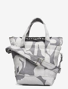 MILLI MATKURI PIENI UNIKKO II SHOULDER BAG - top handle tasker - grey,light grey