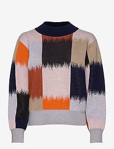 PYSTI OSTJAKKI KNITTED PULLOVER - pullover - multicolored