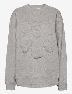 HUIPENNUS UNIKKO SHIRT - sweatshirts - melange grey
