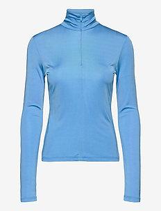KONKARI TURTLENECK SHIRT - topy z długimi rękawami - blue