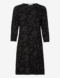 VEHREYS HEINI DRESS - midi kjoler - black, grey