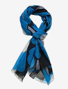 FIORE PIENI UNIKKO SCARF - scarves - black, blue, off-white