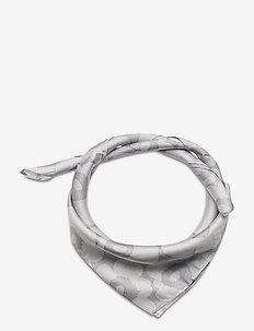 MIELITTY MINI-UNIKKO SCARF - scarves - grey, light grey