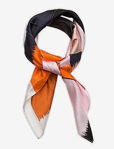 MAINI OSTJAKKI SCARF - sjaals - pink, black, brown