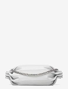 KARLA CHAIN SHOULDER BAG - olkalaukut - light grey