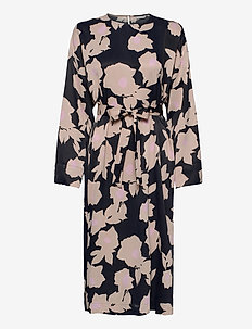 MAININTA JÄÄROUVA DRESS - maxi kjoler - black, beige, pink