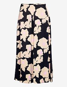 SYKLAAMI JÄÄROUVA SKIRT - lange skjørt - black, beige, pink