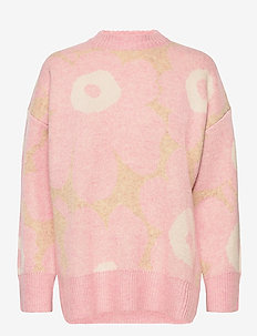 ONNEKAS UNIKKO KNITTED PULLOVER - jumpers - brown, light pink, off white