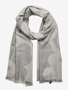 SUE JACQUARD JUHLA-UNIKKO SCARF - Écharpes - grey, light grey