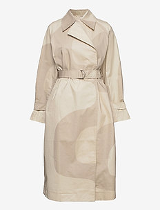 KANTAKULMA SEIREENI TRENCH COAT - trenssit - brown, beige