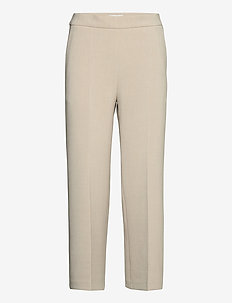 HAKKU COLOR TROUSERS - bukser med lige ben - off-white