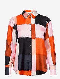 TOIVEIKAS OSTJAKKI SHIRT - pitkähihaiset paidat - orange, beige, black