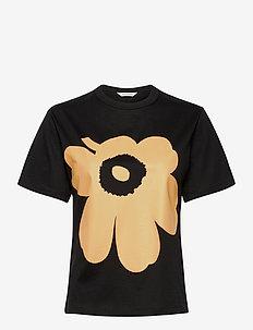KAPINA UNIKKO T-SHIRT - t-shirts - black, beige