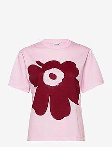 KAPINA UNIKKO T-SHIRT - t-shirts - pink, dark red