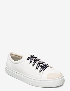 DRUTHA CO-CREATED SNEAKERS - låga sneakers - white, beige, turquoise