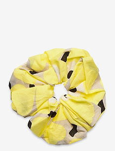 RUUSUNKUKKA UNIKKO HAIR SCRUNCHIE - accessoires - beige, yellow, black